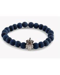 Tateossian - King Skull Bracelet - Lyst