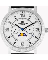 Tateossian - Eclipse Watch In Silver Colour - Lyst