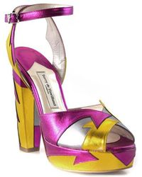 Terry De Havilland - Zia Pink/yellow - Lyst