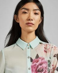 Ted Baker - Zaylaa Magnificent Blouse - Lyst
