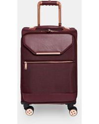 Ted Baker - Metallic Trim Small Suitcase - Lyst