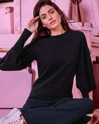 Ted Baker - Oversized Sleeve Cashmere Jumper - Lyst
