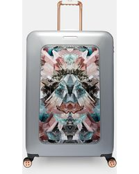 30294da7efc83 Ted Baker Gem Garden 8 Wheel Medium Suitcase - Lyst