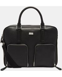 Ted Baker - Leather Document Bag - Lyst