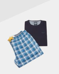Ted Baker - T-shirt And Trousers Cotton Pyjama Set - Lyst