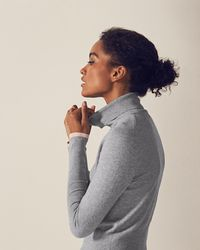 Ted Baker - Ribbed Roll Neck Jumper - Lyst
