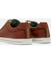 7e5315bca7d57 Ted Baker - Burnished Leather Sneakers - Lyst