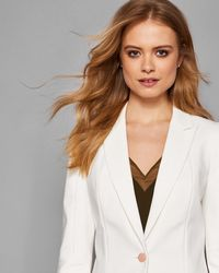 Ted Baker - Seam Detail Tailored Blazer - Lyst