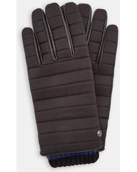 Ted Baker - Quilted Gloves - Lyst