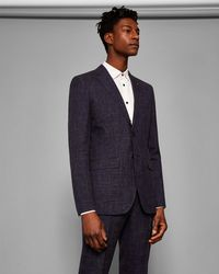 Ted Baker - Global Semi Plain Suit Jacket - Lyst