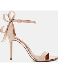 Ted Baker - Oversized Bow Sandals - Lyst