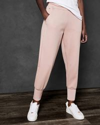 Ted Baker - Jersey Jogger With Lurex Rib Detail - Lyst