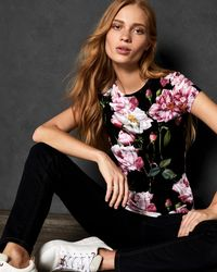 Ted Baker - Iguazu Fitted T-shirt - Lyst