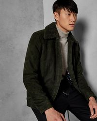 Ted Baker - Shearling Jacket - Lyst
