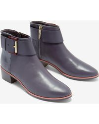 Ted Baker - Leather Ankle Boots - Lyst