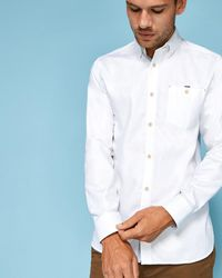 Ted Baker - Cotton Shirt - Lyst