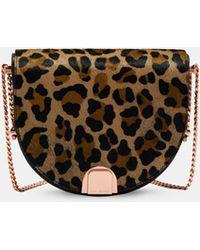 Leopard Print Moon Bag Ted Baker FuGm2vKJ