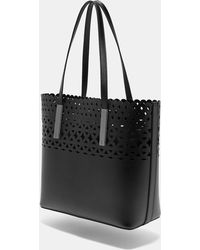 Ted Baker - Cut Out Detail Leather Shopper Bag - Lyst