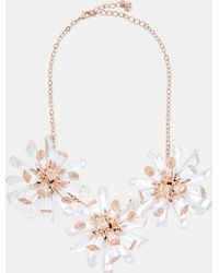 Ted Baker - Triple Geo Burst Necklace - Lyst