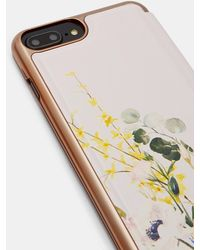 Ted Baker - Elegant Iphone 6/7/8 Plus Book Case - Lyst
