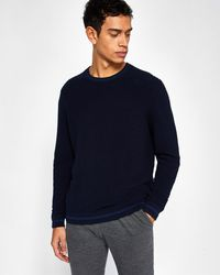Ted Baker - Textured Stitch Sweater - Lyst