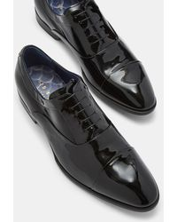 Ted Baker - Leather Oxford Shoes - Lyst