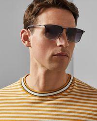 Ted Baker - Metal Frame Sunglasses - Lyst