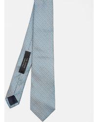 Ted Baker - Zig-zag Silk Tie - Lyst