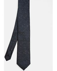 Ted Baker - Flecked Checked Silk Tie - Lyst