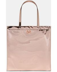 Ted Baker - Large Mirrored Icon Bag - Lyst