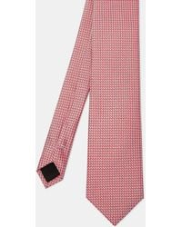 Ted Baker - Semi Plain Silk Tie - Lyst
