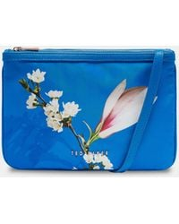 Ted Baker - Harmony Double Pouch Cross Body Bag - Lyst