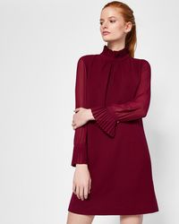 Ted Baker | A-line Overlay Romper | Lyst