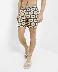 Ted Baker - Pineapple Print Swim Shorts - Lyst