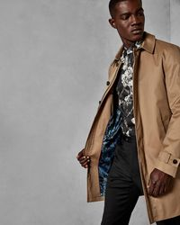 Ted Baker - Trench Coat - Lyst