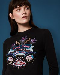 Ted Baker - 'every Cloud' Jumper - Lyst