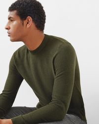 Ted Baker - Textured Crew Neck Jumper - Lyst