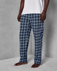 Ted Baker - Check Lounge Trouser And Tee - Lyst