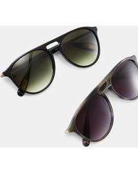 Ted Baker - Round Sunglasses - Lyst