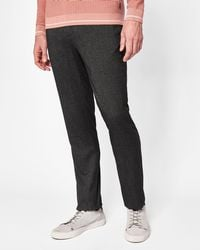 Ted Baker - Tall Semi Plain Trousers - Lyst