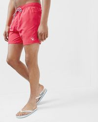 Ted Baker - Solid Drawstring Swim Shorts - Lyst