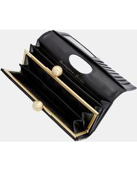 Ted Baker - Scripted Leather Bobble Matinee Purse - Lyst
