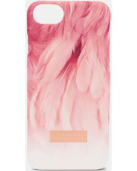 Ted Baker - Angel Falls Iphone 6/6s/7/8 Clip Case - Lyst