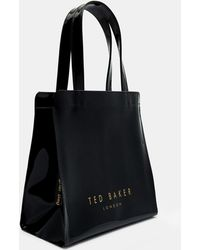 e2e84f3cdd0a Ted Baker Ned Striped Icon Bag And Flip Flop Set in Blue - Lyst