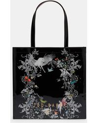 Ted Baker - Enchanted Dream Large Icon Bag - Lyst