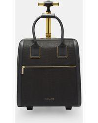 Ted Baker - Cressa Textured Travel Bag - Lyst