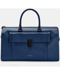 Ted Baker - Coloured Leather Holdall - Lyst