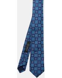 Ted Baker - Silk Tile Jacquard Tie - Lyst