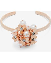 Ted Baker - Heart Blossom Cuff - Lyst