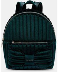 Ted Baker - Velvet Bow Backpack - Lyst